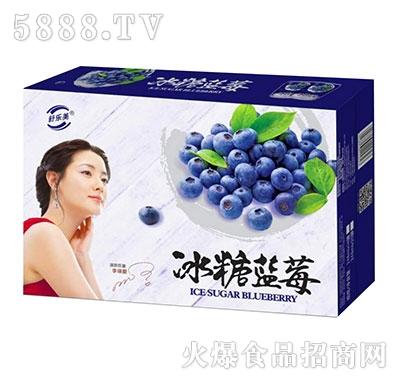 舒乐美冰糖蓝莓饮料箱装
