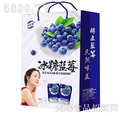 舒乐美冰糖蓝莓饮料礼盒