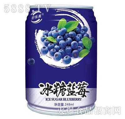 舒乐美冰糖蓝莓饮料248ml