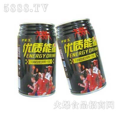 伊丽澳优质能量牛磺酸型维生素饮料罐装