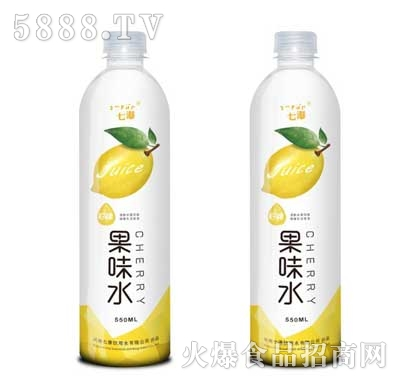 七瀑柠檬果味水饮料550ml