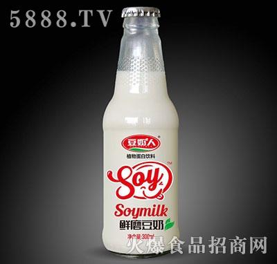 豆奶人鲜蘑豆奶300g