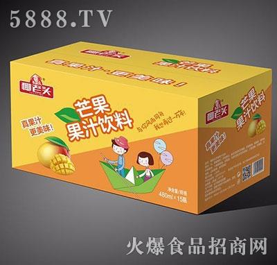 椰老头芒果果汁饮料480mlx15瓶