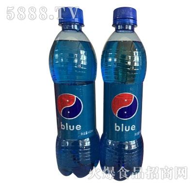 雪仔blue蓝色可乐