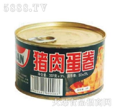 果莲牌397克猪肉蛋卷产品图