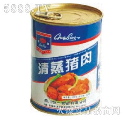 果莲牌550克清蒸猪肉产品图
