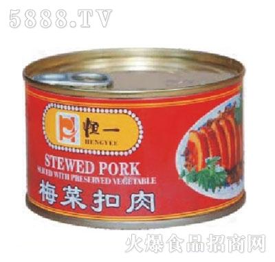 恒一牌340克梅菜扣肉产品图