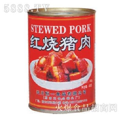 恒一牌400克红烧猪肉产品图