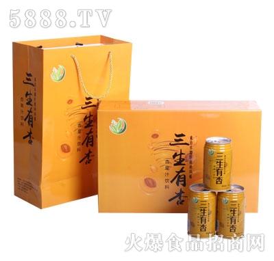 杏茗三生有杏杏果汁�料
