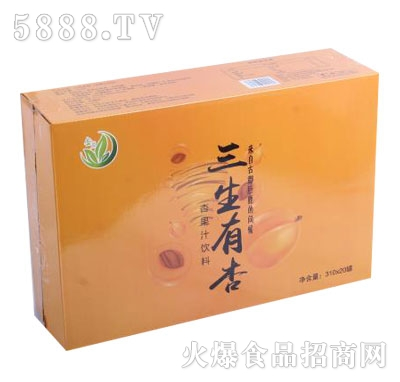 杏茗三生有杏杏果汁�料310mlX20