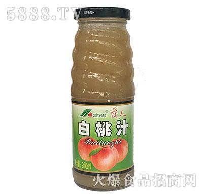 爱人白桃汁260ml