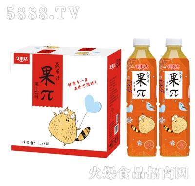乐事达果π菠萝汁1LX8