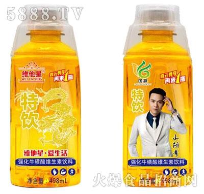 维他星特饮强化牛磺酸维生素饮料498ml