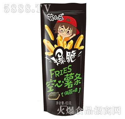 萌小乐爆脆空心薯条海苔味60g