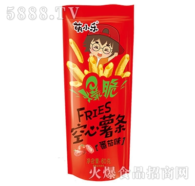 萌小乐爆脆空心薯条番茄味60g