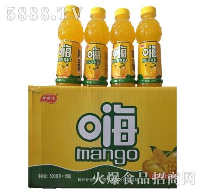 伊丽澳嗨芒果汁果味饮料500mlx15瓶