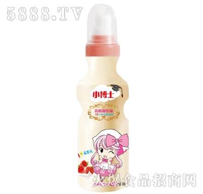 小博士益生元草莓味乳酸菌饮品200ml