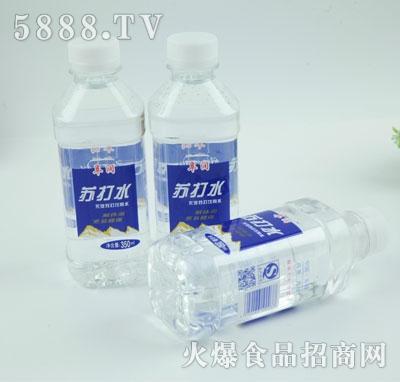 阜润苏打水350ml