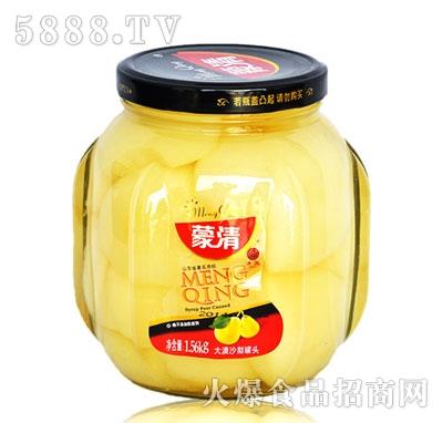 蒙清沙梨罐头1.56g