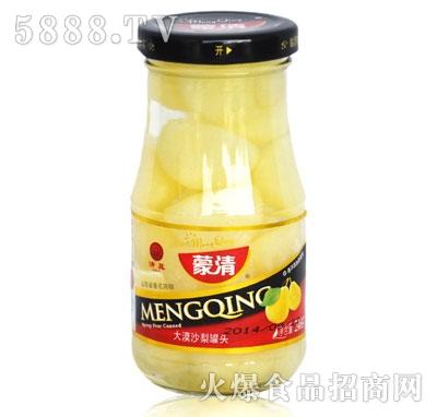 蒙清沙梨罐头246g