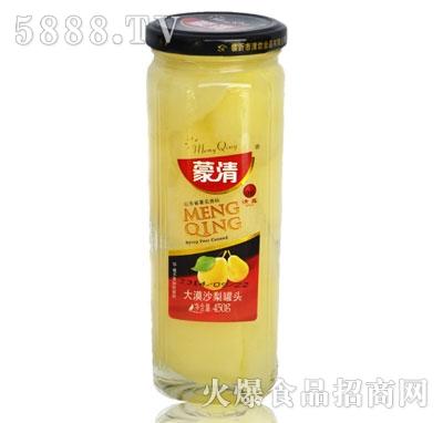 蒙清沙梨罐头450g