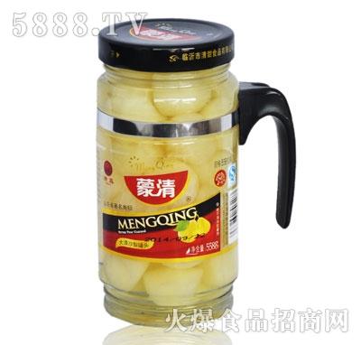 蒙清沙梨罐头558g