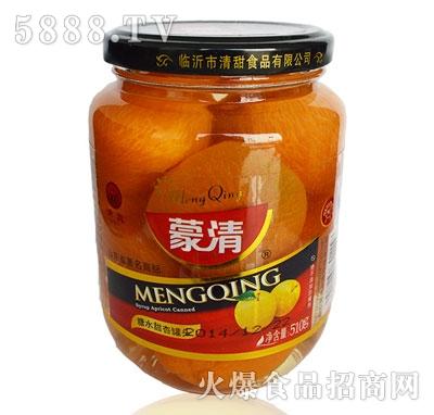 蒙清甜杏罐头510g