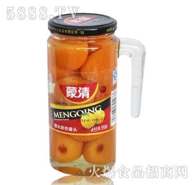蒙清甜杏罐头550g