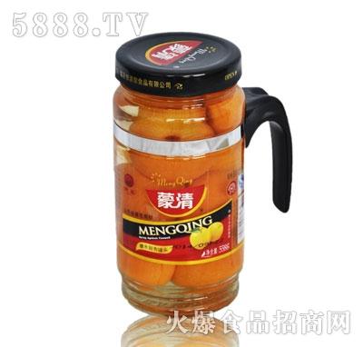 蒙清甜杏罐头558g