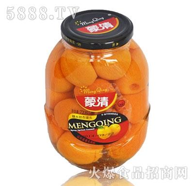 蒙清甜杏罐头720g