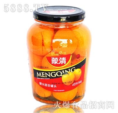 蒙清甜杏罐头860g
