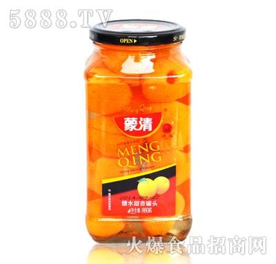 蒙清甜杏罐头880g