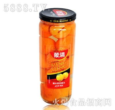 蒙清甜杏罐头960g