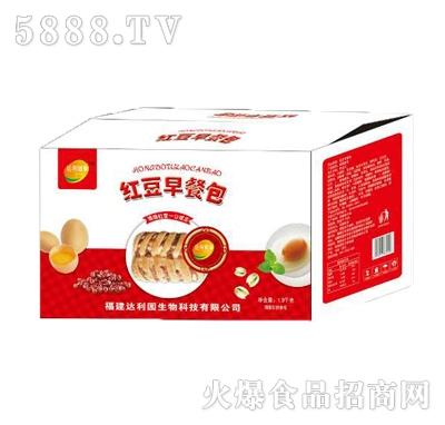 达利健康红豆早餐包1.9kg