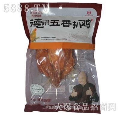 德盛斋五香扒鸡700g产品图