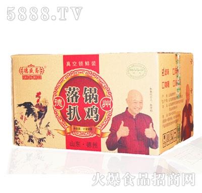德盛斋落锅扒鸡550g*8袋(箱装)产品图