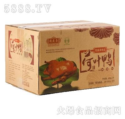德盛斋荷叶鸭600gx7袋(箱装)