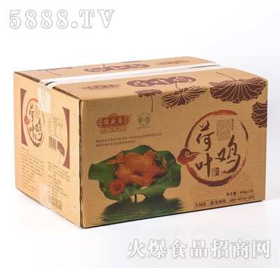 德盛斋荷叶鸡600gx7袋(箱装)产品图