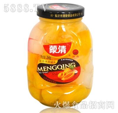 蒙清混合水果罐头260g