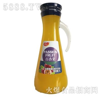 真心百香果复合果汁饮料1L