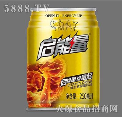 启能量维生素能量饮品250ml
