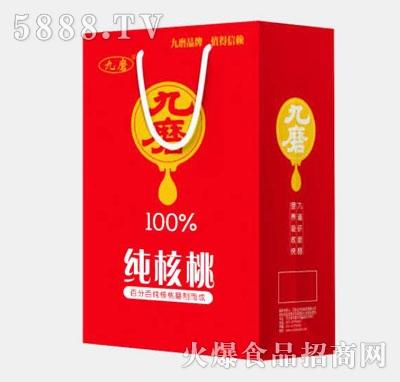 九磨纯核桃植物蛋白饮料(袋)
