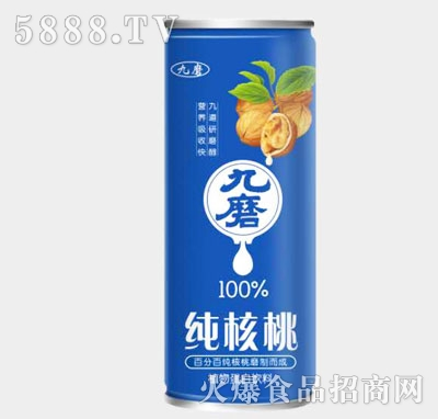 九磨纯核桃植物蛋白饮料