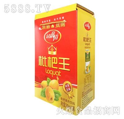 清润情枇杷果汁饮料240mlX6
