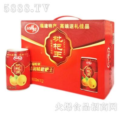 清润情枇杷果汁饮料310mlX12