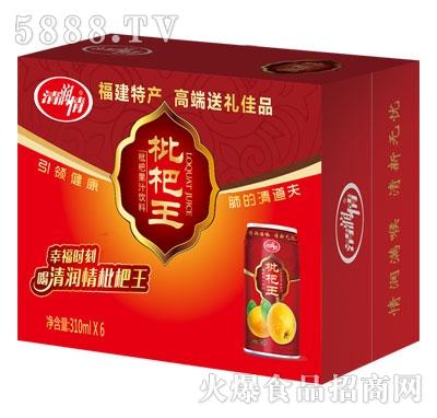 清润情枇杷果汁饮料310mlX6