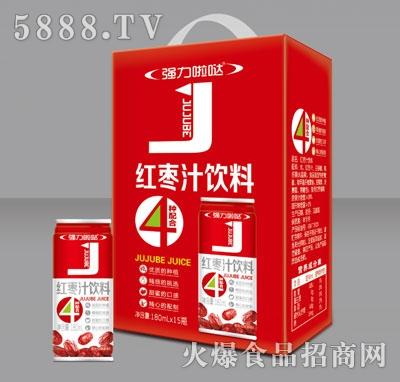 强力啦哒红枣汁饮料180mlX15