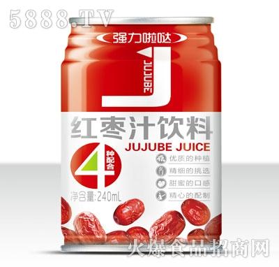 强力啦哒红枣汁饮料240ml