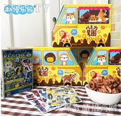 动漫乐园巧克力薯圈