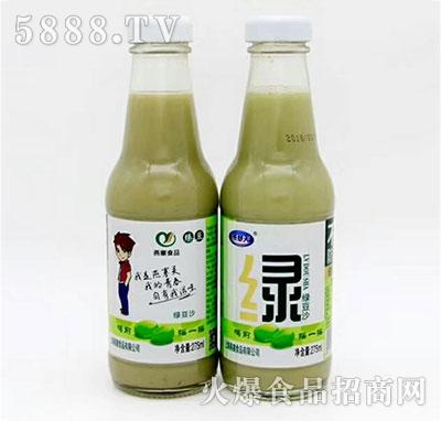燕塞食品绿豆沙275ml(两瓶)